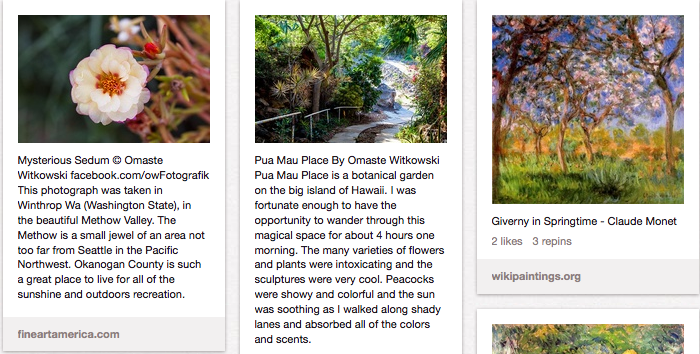 Gardens Pinterest Board