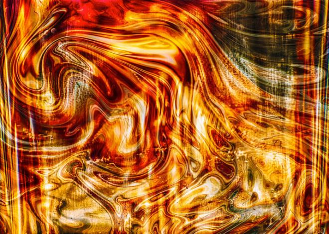 Melting Gold By Omaste Witkowski