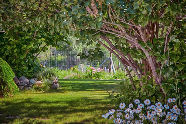 Secret Garden Motivational Artwork by Omashte