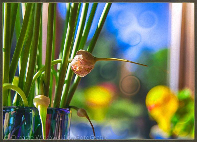 Early Morning Magic Abstract Painting Omaste Witkowski owFotoGrafik.com