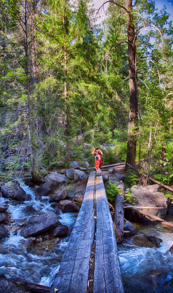 Falls Creek Footbridge Omaste Wiktowski owFotoGrafik.com