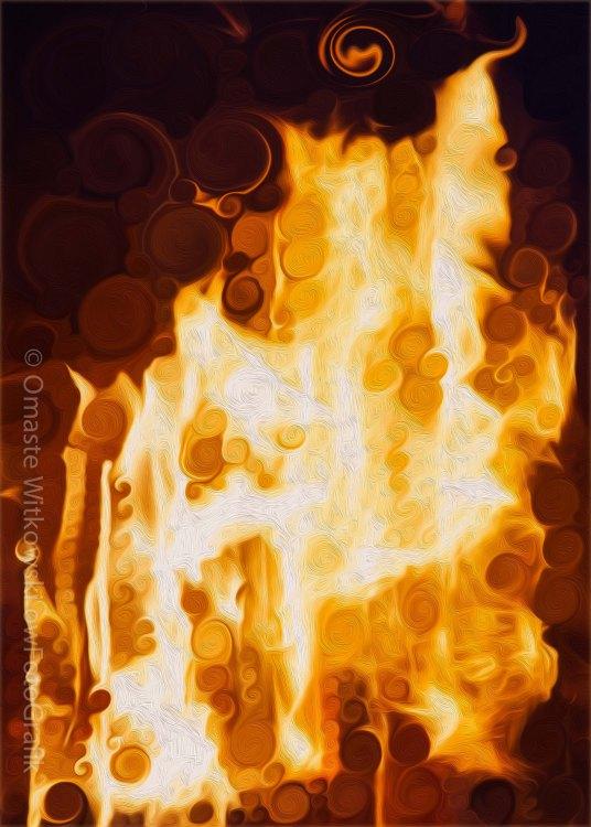 Flaming Waters Omaste Witkowski owFotoGrafik.com