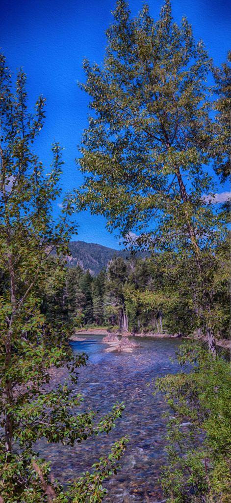 Methow River Log jam Omaste Wiktowski owFotoGrafik.com