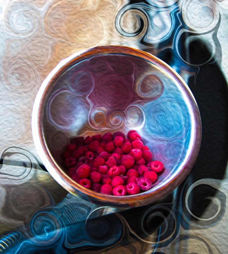 Raspberry Reflections Omaste Witkowski owFotoGrafik.com