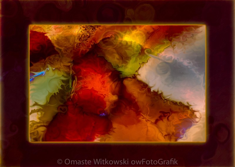 A Warrior Spirit Abstract Healing Art Omaste Witkowski owFotoGrafik.com