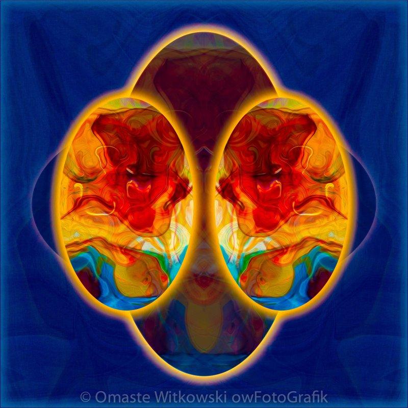 Insights and Awareness Abstract Healing Art Omaste Witkowski owFotoGrafik.com