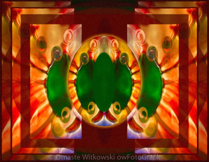 Love Reborn Into Life Abstract Healing Art Omaste Witkowski owFotoGrafik.com