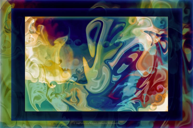 Music in My Soul an Abstract Painting
