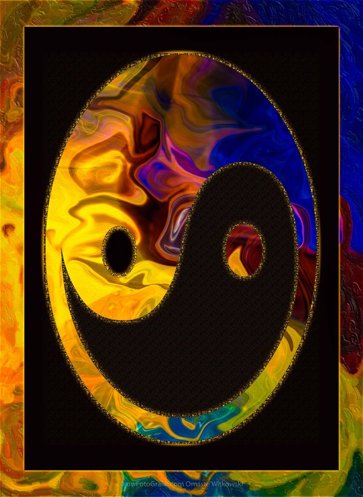 A Happy Balance of Energies Abstract Healing Art