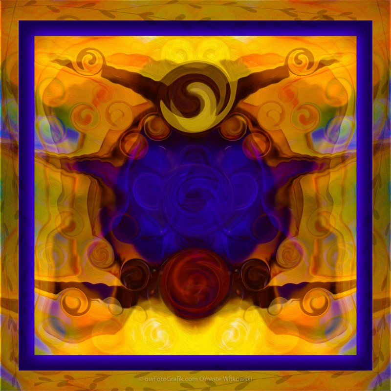 Finding My Happy Place Abstract Healing Art