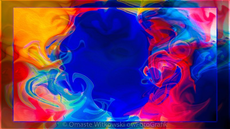 Love and All of Its Mysteries Abstract Healing Art Omaste Witkowski owFotoGrafik.com