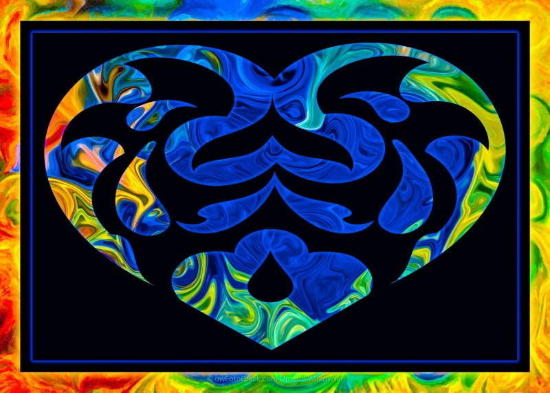 Shape And Space Artwork : A loving heart is the beginning of all knowledge thomas
