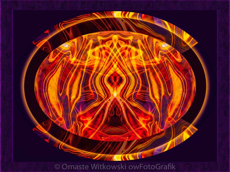 Painfully Aware Abstract Healing Art Omaste Witkowski owFotoGrafik.com
