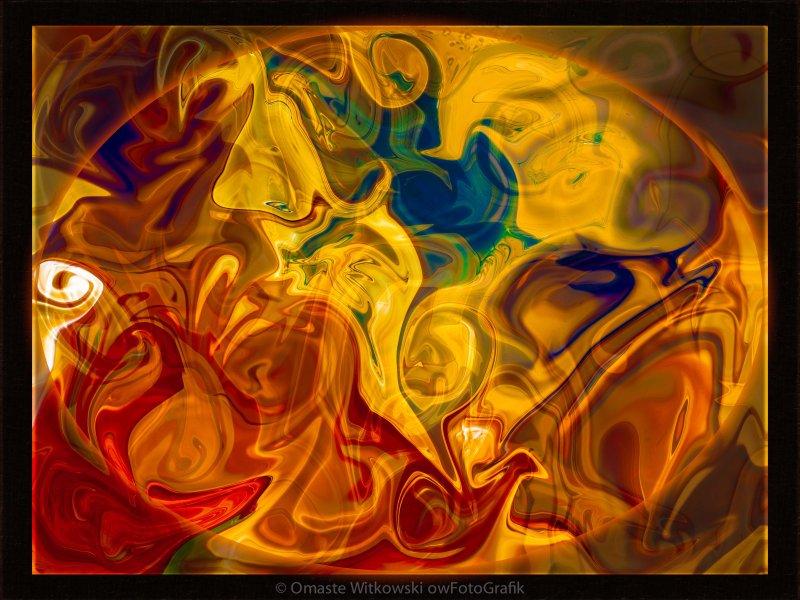 Primal Awareness Abstract Healing Art
