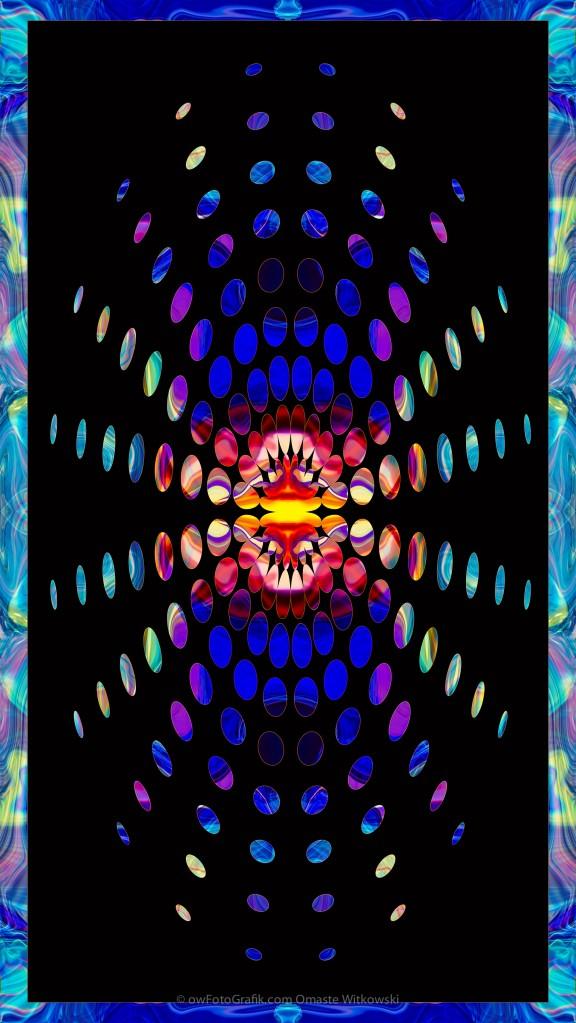 Eternal Rays of Hope Abstract Healing Artwork