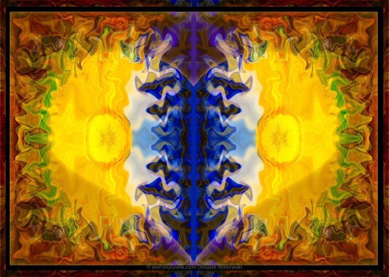 Love and Loss Abstract Healing Artwork