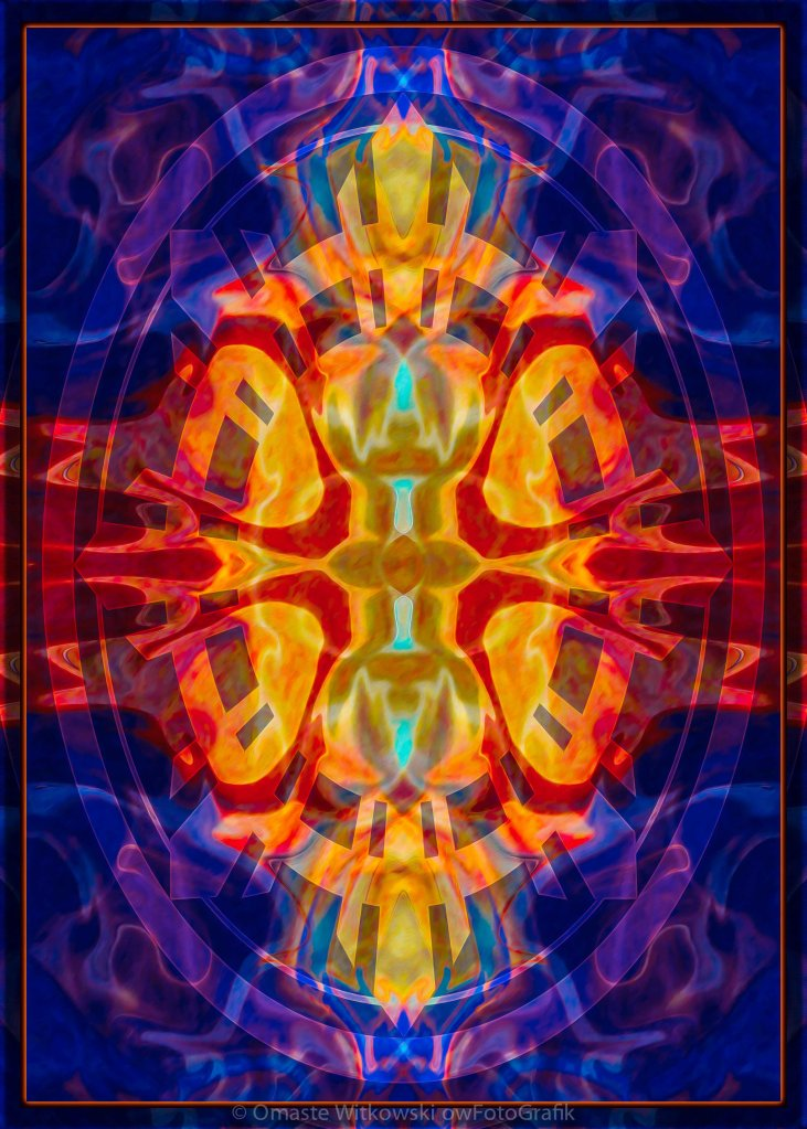 Mother of Eternity Abstract Living Artwork Omaste Witkowski owFotoGrafik.com