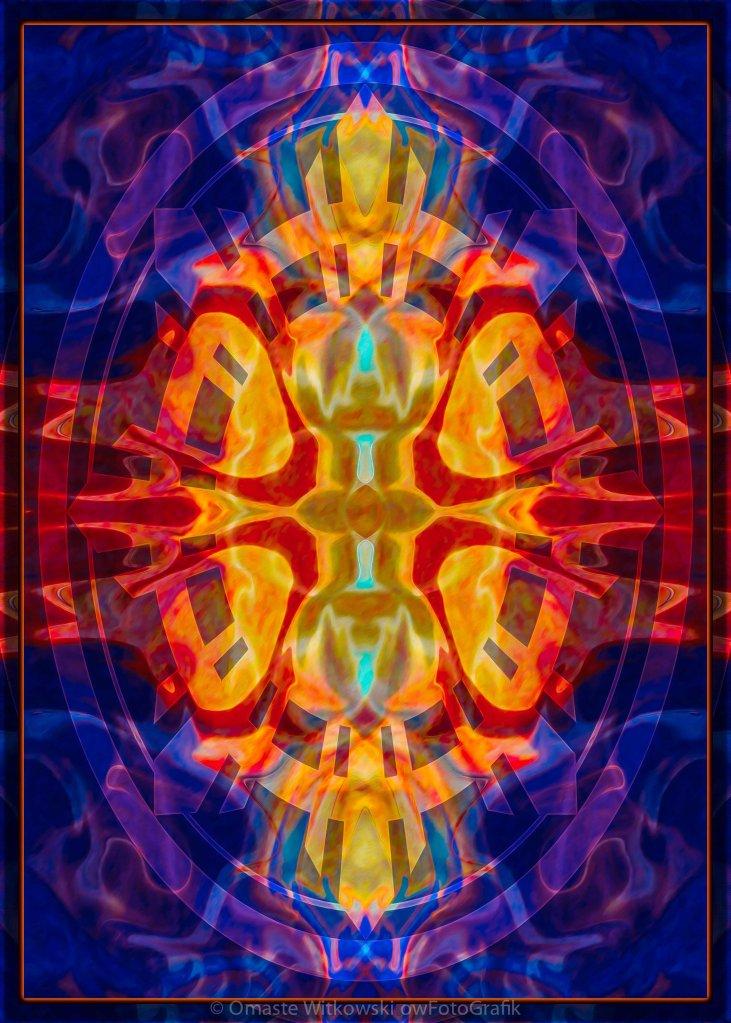 Mother of Eternity Abstract Living Artwork Omaste Witkowski owFotoGrafik.com