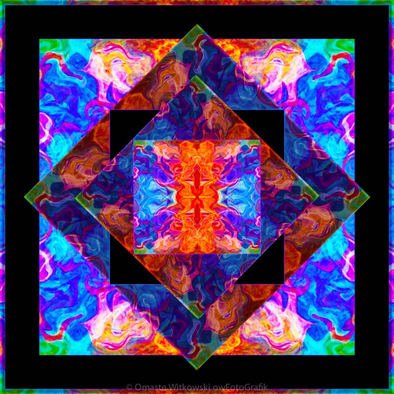 Newly Formed Bliss Mandala Artwork Omaste Witkowski owFotoGrafik.com