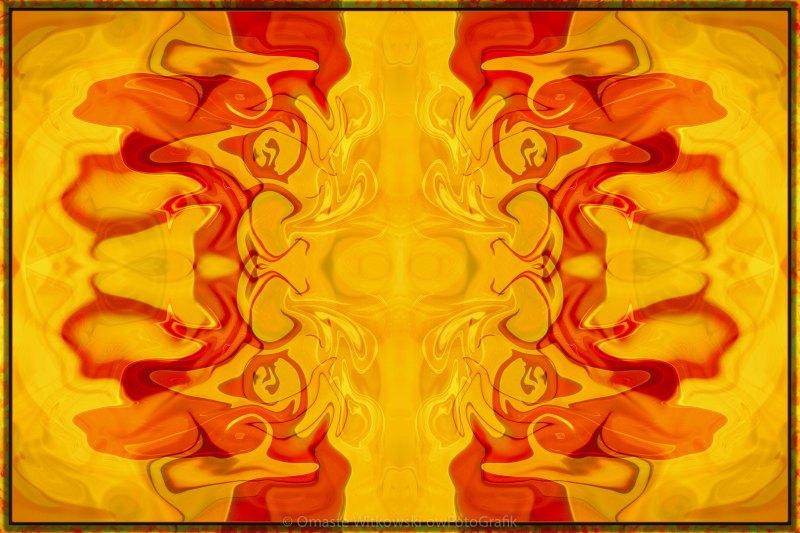 Energy Bodies Abstract Healing Artwork Omaste Witkowski owFotoGrafik.com
