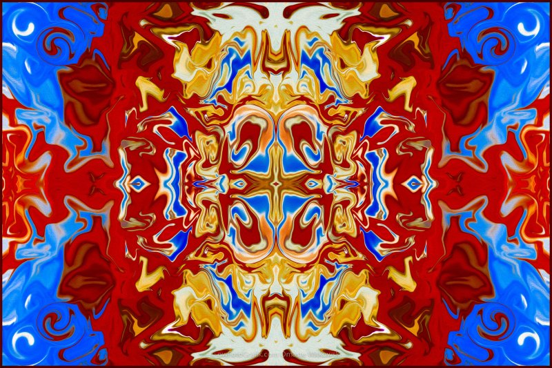 New Life Forming Abstract Patterns