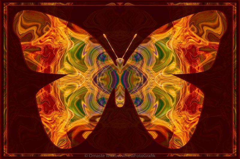 Spiritual Transformation Abstract Spiritual Artwork Omaste Witkowski owFotoGrafik.com