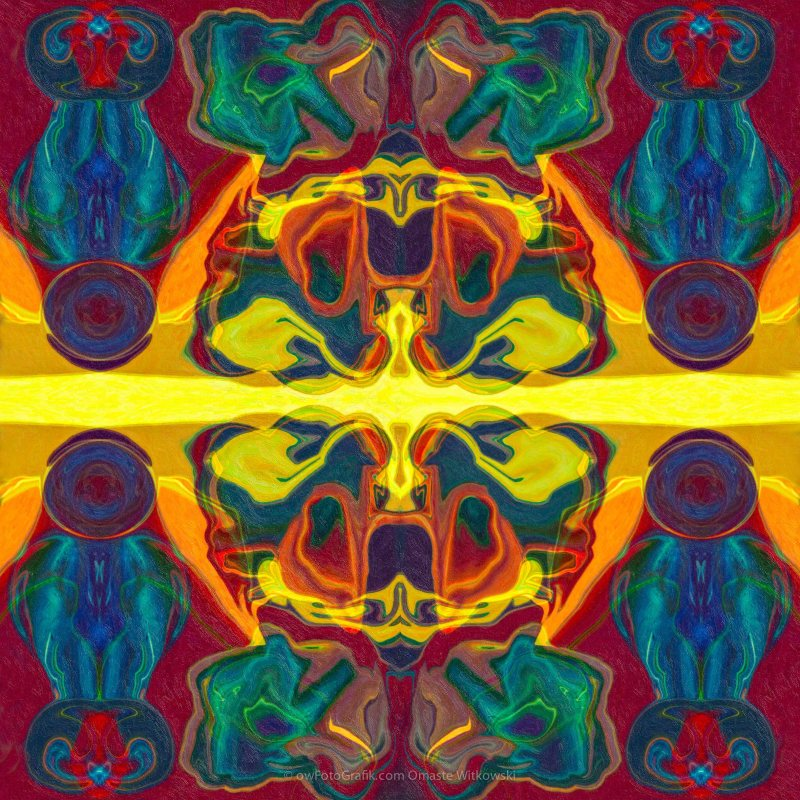 Cosmic Designs Abstract Pattern Artwork