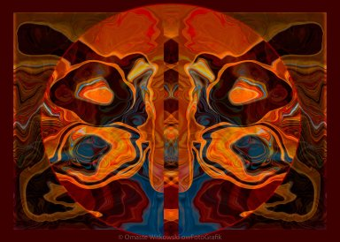 Deities Abstract Digital Artwork