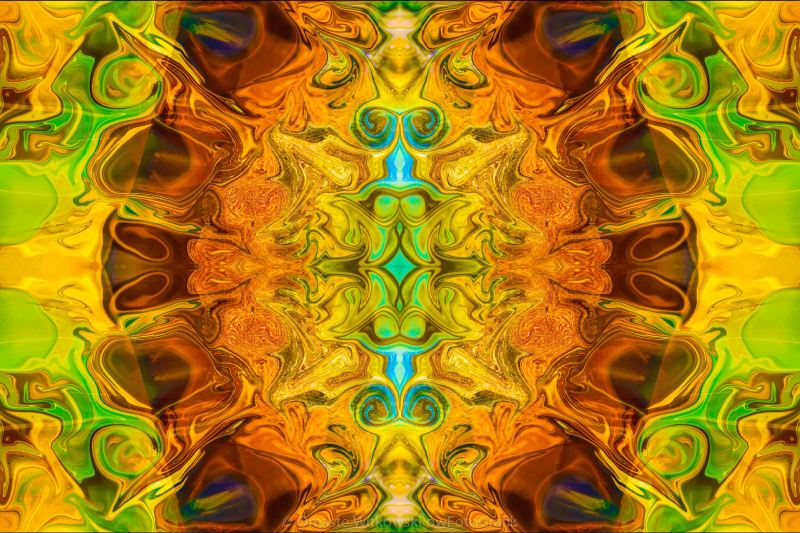 Energy Experiences Abstract Healing Artwork by Omaste Witkowski owFotoGrafik.com