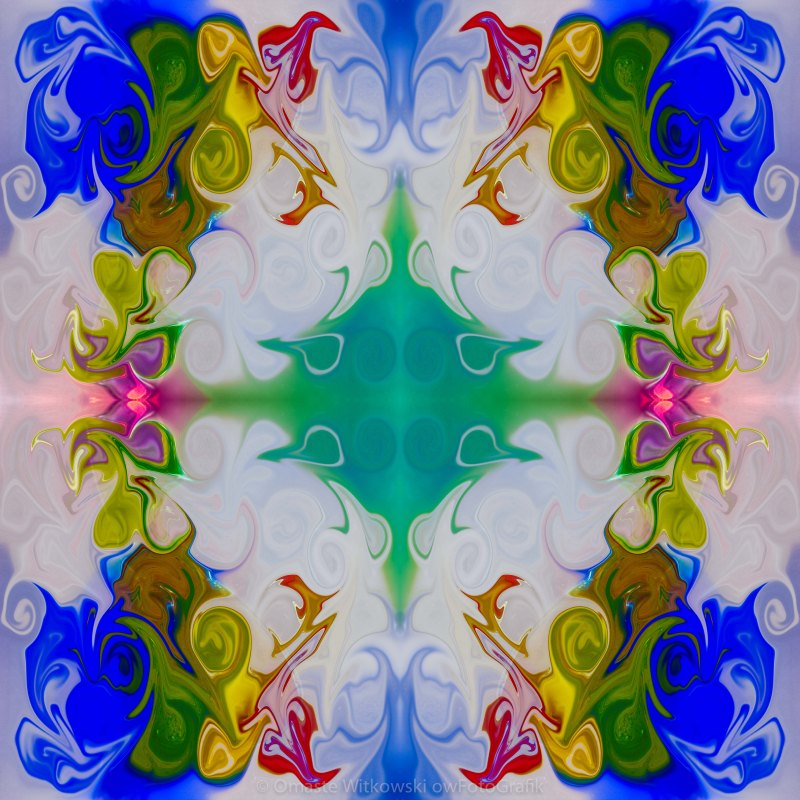 Exploring Life's Mysteries Abstract Pattern Artwork by Omaste Witkowski owFotoGrafik.com