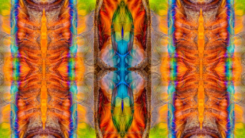 Great Spirit Abstract Pattern Artwork by Omaste Witkowski