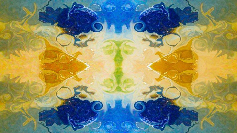 Balancing Energies In Life Abstract Healing Artwork by Omaste Witkowski owFotoGrafik.com