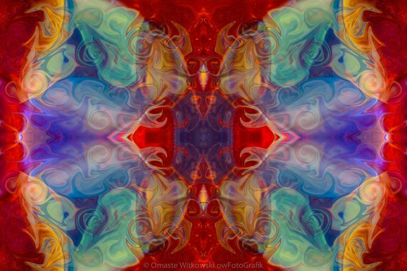 Dimensional Realities Abstract Pattern Artwork by Omaste Witkowski owFotoGrafik.com