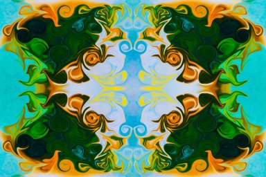 Growing New Light Abstract Healing Art by Omaste Witkowski owFotoGrafik.com