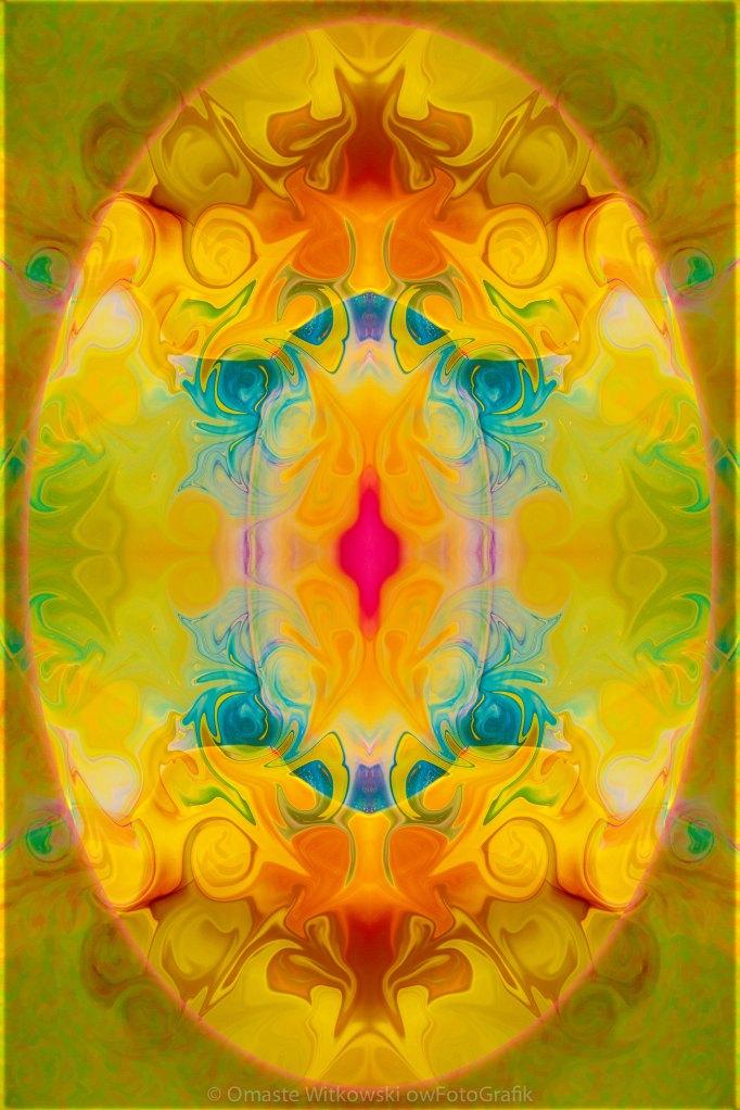 Heavenly Bliss Abstract Healing Artwork by Omaste Witkowski owFotoGrafik.com