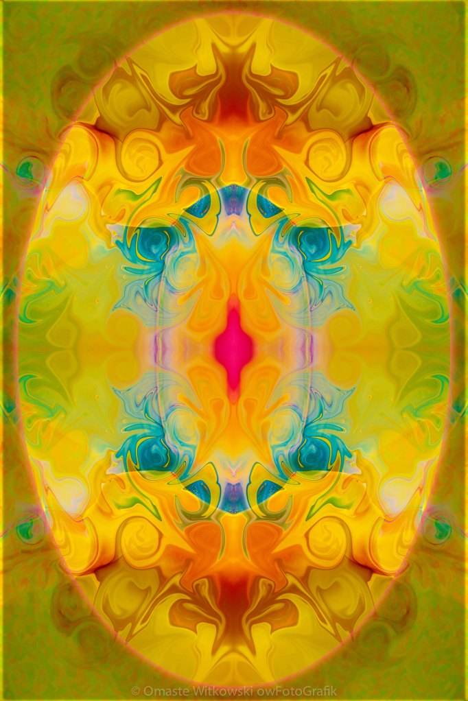 Heavenly Bliss Abstract Healing Artwork by Omaste Witkowski owFotoGrafik.com