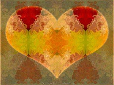 Layers of Loving Wisdom Abstrat Symbol Artwork by Omaste Witkowski owFotoGrafik.com