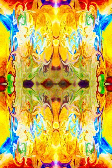 Tony's Tower Abstract Pattern Artwork by Tony Witkowski owFotoGrafik.com