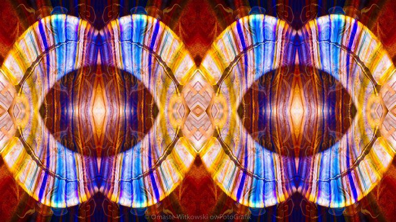 All Eyes On Eternity Abstract Living Artwork by Omaste Witkowski owFotoGrafik.com