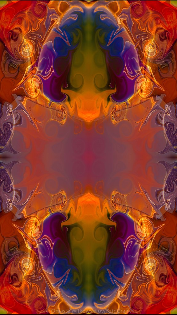 A Rainbow Of Life Abstract Living Art by Omaste Witkowski owFotoGrafik.com