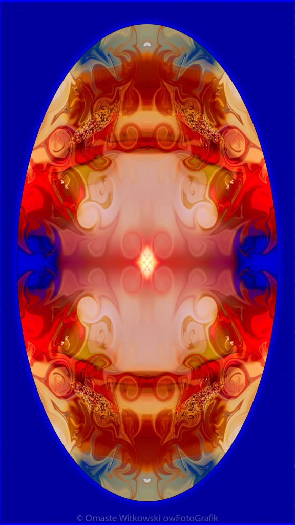 Enlightenment Abstract Mandala Artwork by Omaste Witkowski owFotGrafik.com