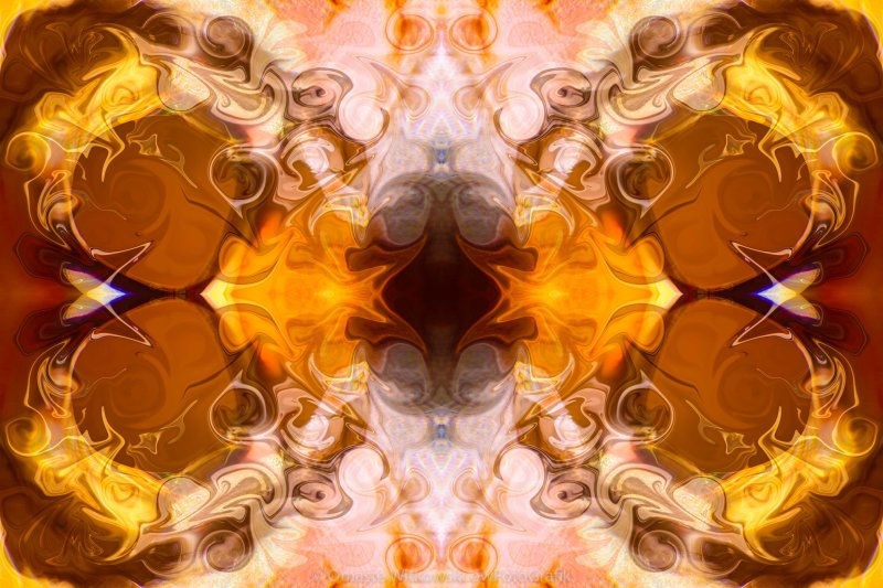 Exploding Ideas Abstract Pattern Artwork by Omaste Witkowski