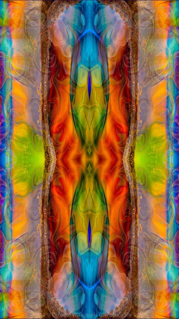 Halls of Clarity Abstract Healing Artwork by Omaste Witkowski owFotoGrafik.com