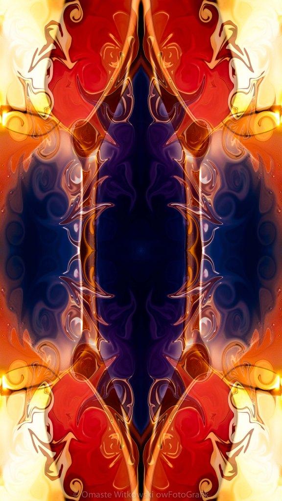 Space Needle Abstract Pattern Artwork by Omaste WItkowski owFotoGrafik.com