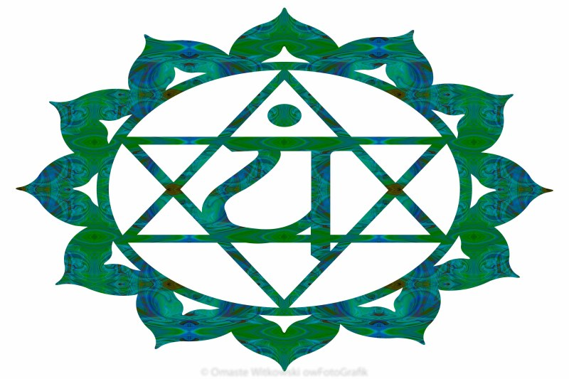 Anahata Abstract Chakra Art by Omaste Witkowski owFotoGrafik.com
