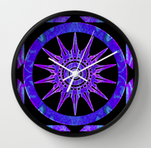 Wall Clock $30 via Society6