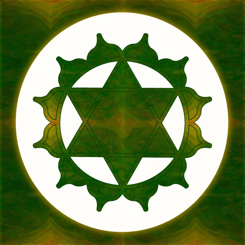Ultimate Tranquility Abstract Chakra Art by Omaste Witkowski owFotoGrafik.com