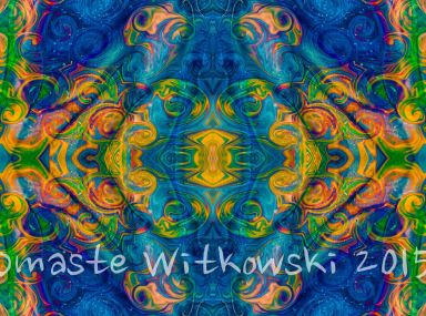 Cosmic Consciousness Abstract Design Art by Omaste Witkowski_