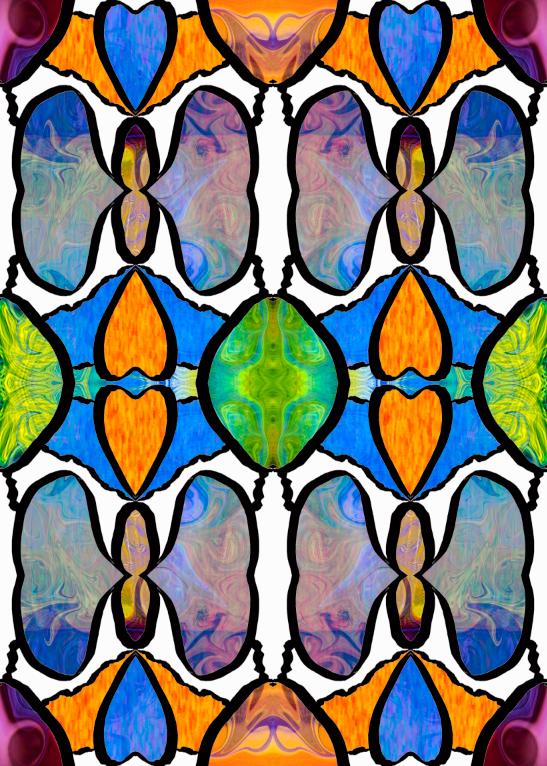 LAYER 5 & Des & Ill & 3 color semi transparent