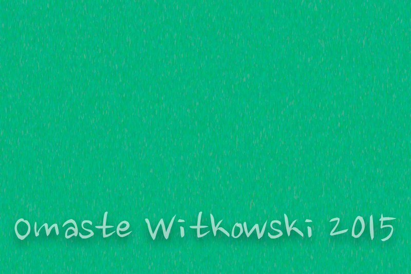 Turquoise Treat Abstract Design Art by Omaste Witkowski owFotoGrafik.com